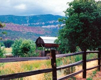 Barn Waiting for the Rain Photo in Colorado near Durango