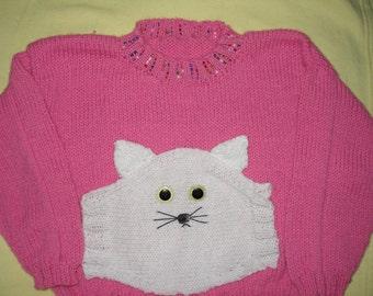 My Little Kitty Pullover