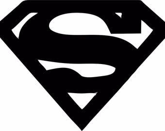 Superman Logo Vinyl Decal