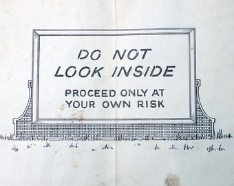 Vintage Mature Girlie Advertisement Brochure A Bumper Crop by Sample Simon