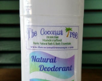 Lavender scented Deodorant / Aluminium Free / Coconut Oil / Organic Deodorant / Non GMO / Safe / Great for Cancer Patients