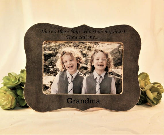 Funky Grandma To Be Picture Frame Embellishment - Custom Picture ...