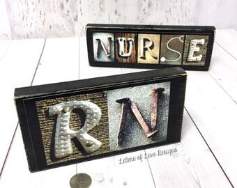 Male Nurse Gift, Registered Nurse Gift Sign, RN sign, RN gift, Nursing Student Gift, Nursing School Gift, Nurse Graduation Gift, Murse Gift