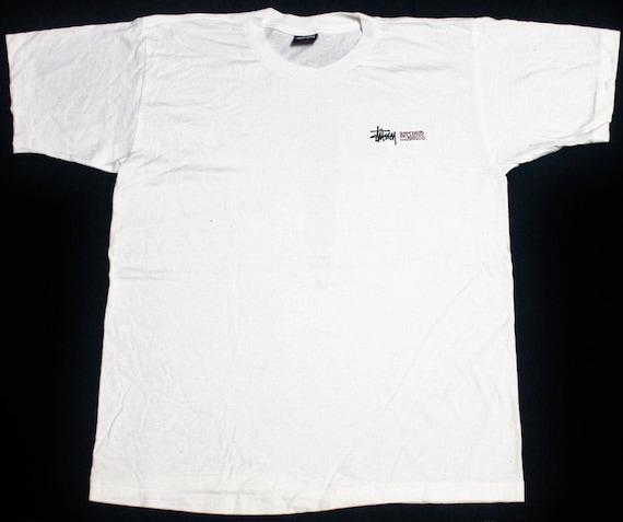 classic STUSSY hop 90s punk OG skateboard t rock VINTAGE shirt skate remixed hip wq1ICZ