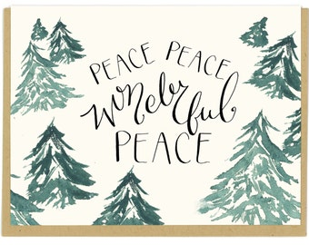 Forest + Peace Card