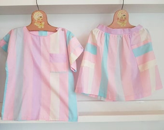 Vintage Sears two piece set. Approx size 6/7