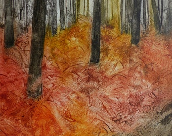 The Woods are lovely , Autumn