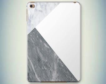 White Marble iPad Air Case iPad 2017 Case New iPad 10.5 Case Marble iPad Pro Case iPad Air 2 Case iPad Mini 2 Case Marble iPad Mini 4 Case