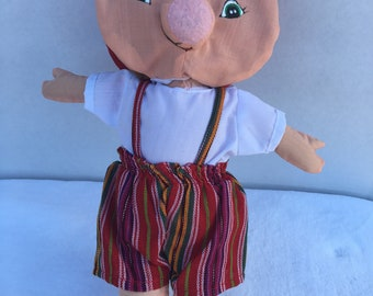 Topsy Turvy Doll - The three Little Pigs