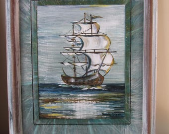 SHIP ASEA' PAINTING