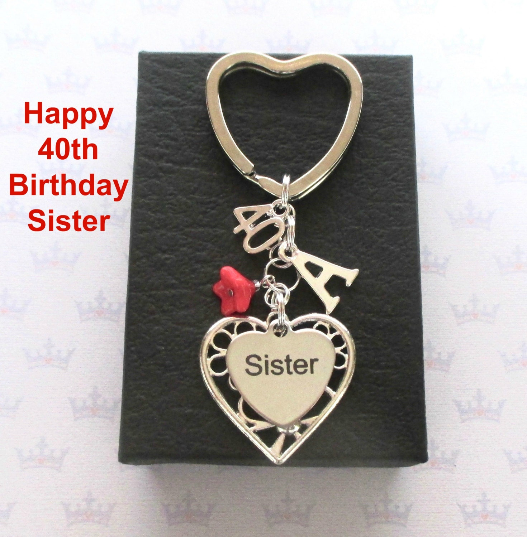 Sister 40th Birthday Gift