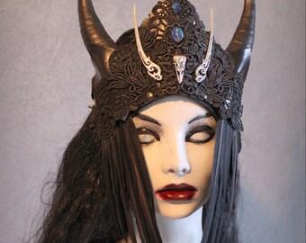Raven Witch Headress