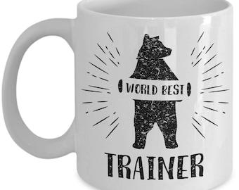 Bear Trainer. Best Gift For Trainer. Birthday Gift. Bear Trainer Mug. 11oz 15oz Coffee Mug.