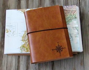 Explorer Journal mit Karten eine Reise von Tremundo Zeitschriften Tagebuch -