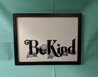 Be Kind Watercolor