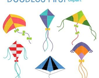 kites clip art etsy rh etsy com kite clip art black and white kites clipart