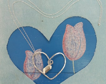Necklace Heart Life