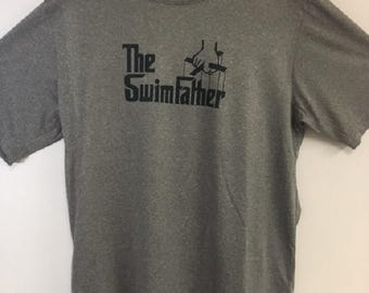 The SwimFather Men's Heather Black Shirt