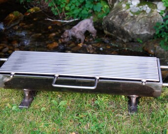 """824H-SS The """"Hibachinator"""" Hibachi Grill w/ Stainless Steel Top"""
