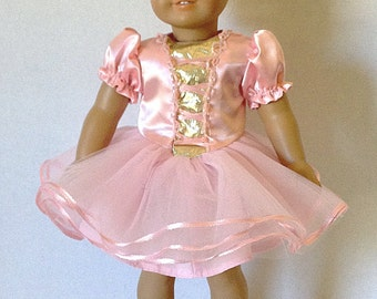18 Inch Doll Clothes, Dance, TuTu Cute, Dance, Ballet, Princess Dress or Costume