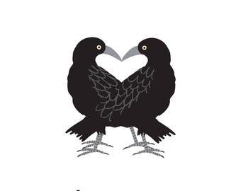 Ravens (4x4 Card)
