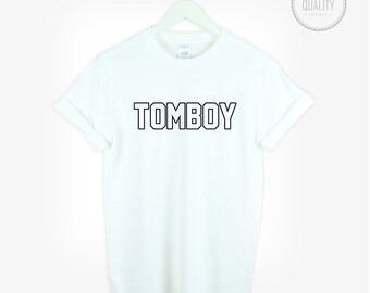 TOMBOY t-shirt shirt tee unisex mens womens funny tumblr instagram fashion blogger cute gift *brand new