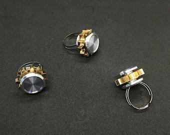 Metal Fidget Spinner Ring