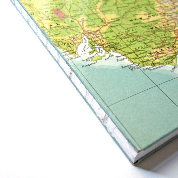 World map note book