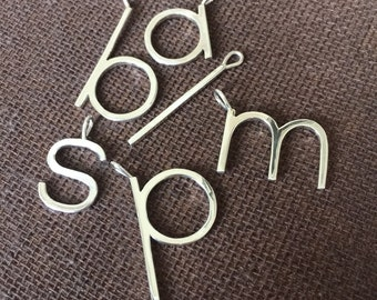 Silver initial necklace letter necklace big initial silver initial pendant letter pendant large initial pendant big initial pendant large letter pendant big letter pendant silver aloadofball Images