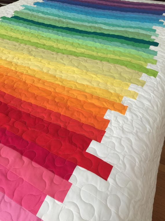 Line Art Quilt Pattern Holly Hickman : Quilt line art abstract twin made to order