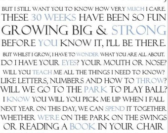 Fathers Day Print 01 - Personalised