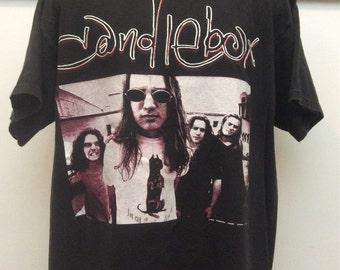 Vtg 1993 Candlebox T-Shirt Black XL 90s Grunge Alternative Rock