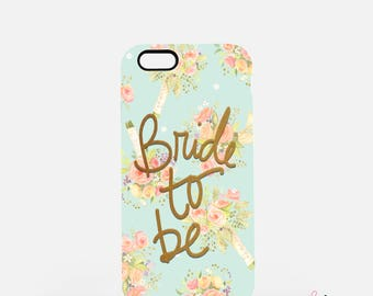BRIDE TO BE iPhone Cover, iPhone Case, iPhone, Phone cover, Bride, Wedding, Samsung case, Tough case