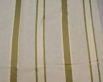 Triplet Stripe Jute Kaufmann Fabric