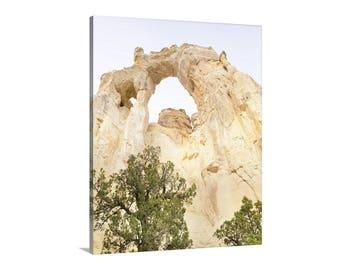 Utah Picture, Desert Landscape Art, National Parks, Utah Photograph, Western Picture, Utah Art, Utah Desert Photo, Grosvenor Arch, Utah Gift