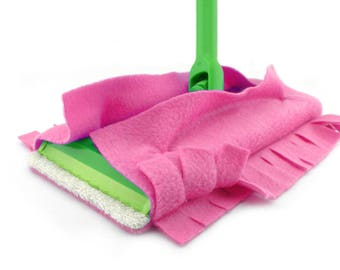 Sweeper Mop Cover, Swiffer Cover, Swiffer Pads, Wet Mop, Dry Mop, Sweeper Covers, Swiffer, Double Sided, Fleece, Terry Cloth