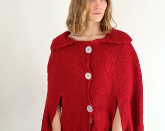 Red Riding Hood Cape / Holiday Sweater