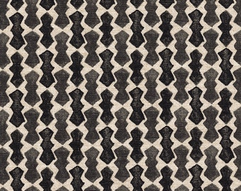 Decorative Pillow Echo Geometric Granite Black