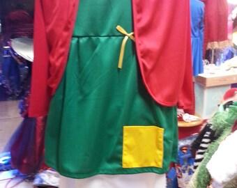 Chilindrina toddler girl teen costume dress