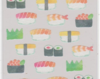 Sushi Stickers - Masking Seal - Mind Wave - Reference H2533A3432-35