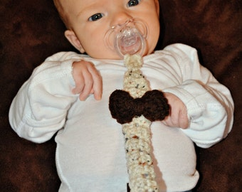 Crochet Pacifier clips