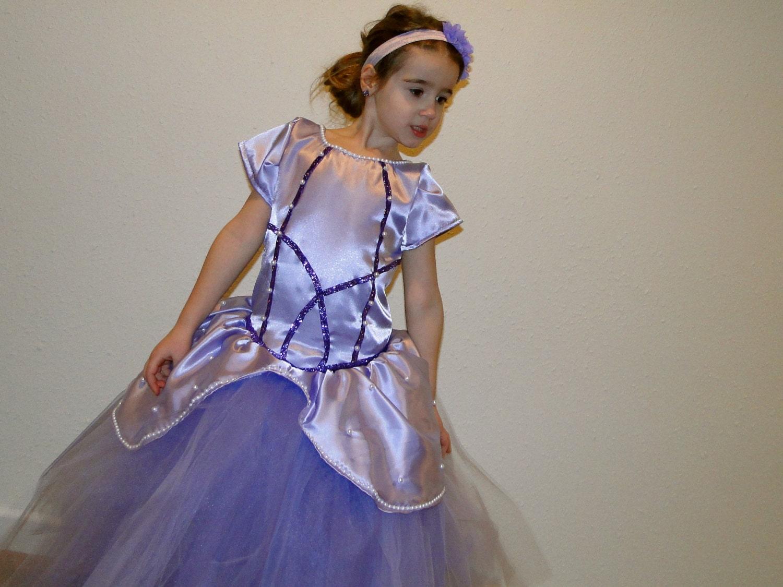 Disney Inspired Sofia the First Tutu Dress