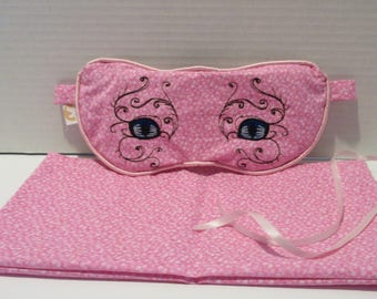 Cat Eye organic Lavender Eye Mask feel great Aromatherapy sleep