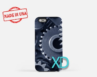 Gears iPhone Case, Industrial Gears iPhone Case, Gears iPhone 8 Case, iPhone 6s Case, iPhone 7 Case, Phone Case, iPhone X Case, SE Case