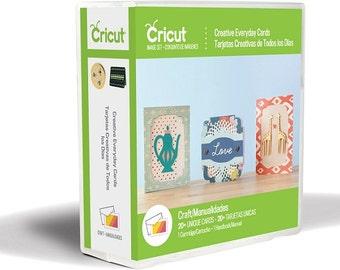 "CRICuT CARTRiDGE  ""CREATIVE EVERYDAY CARDS""  -  PROJeCT CARTRiDGE for your CRICuT MACHiNE !"
