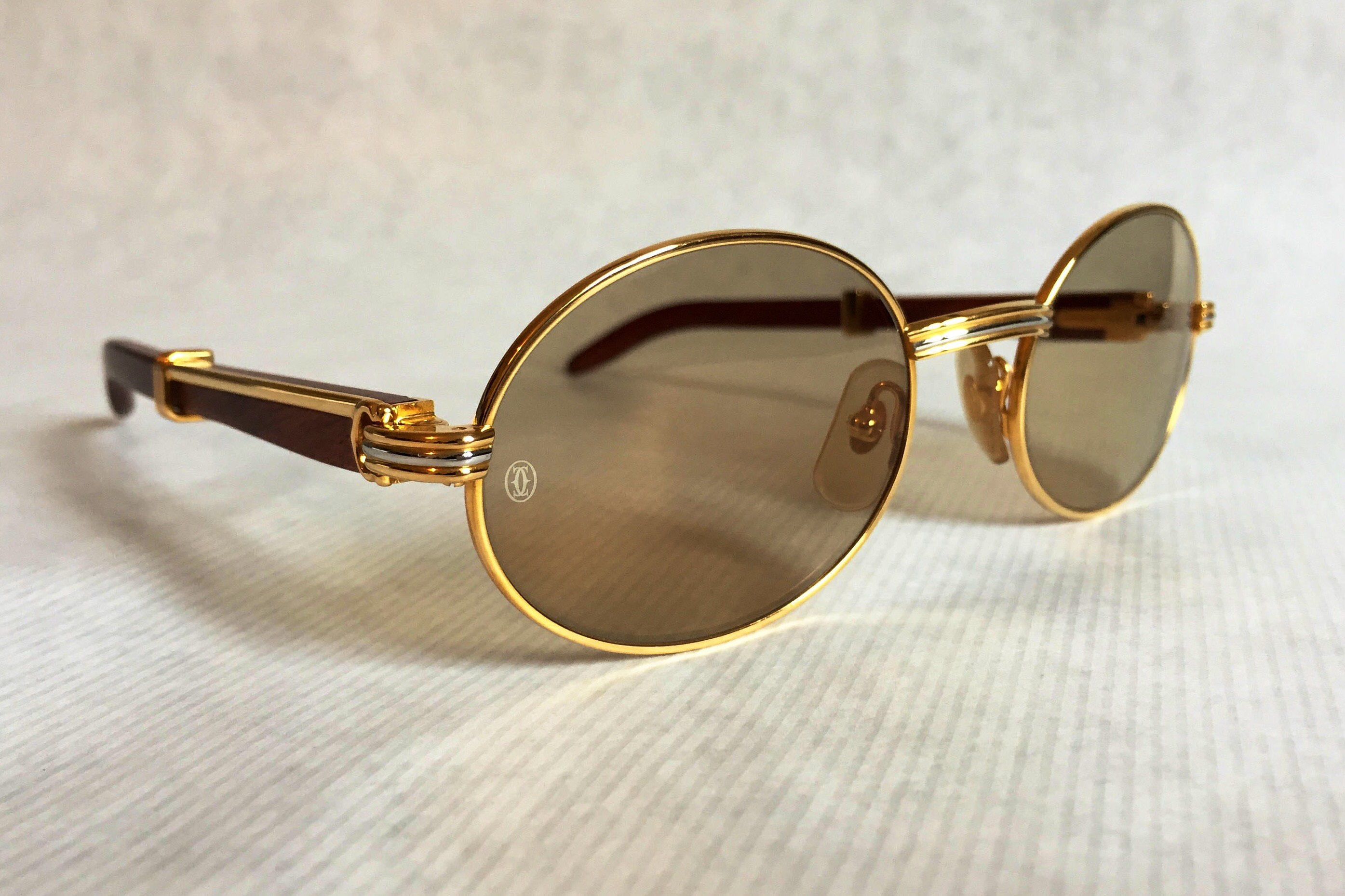 Attractive Cartier Giverny Vintage Sunglasses - Large Size - New Old Stock  XE04