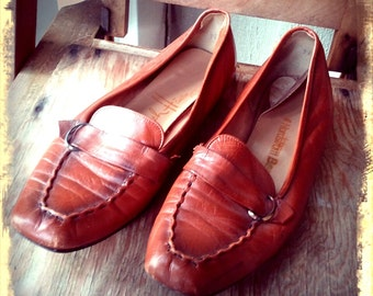 GEEK   ///    Mod 60s Leather Loafers