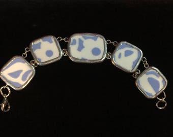 Broken China Bracelet --  #10,0121