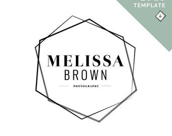 Geometric Logo Creation for Your Personal Brand or Business, Customized, No Programs Needed!