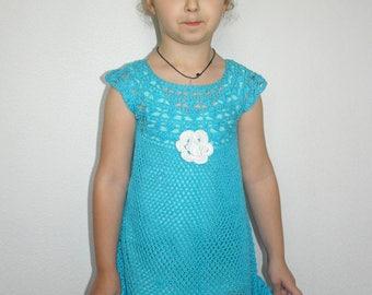 Crochet girl's summer dress